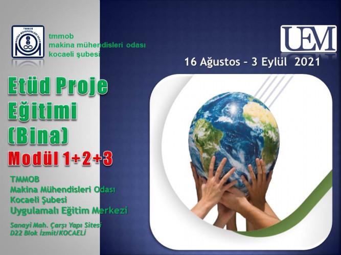 Etüd Proje (Bina) Eğitimi