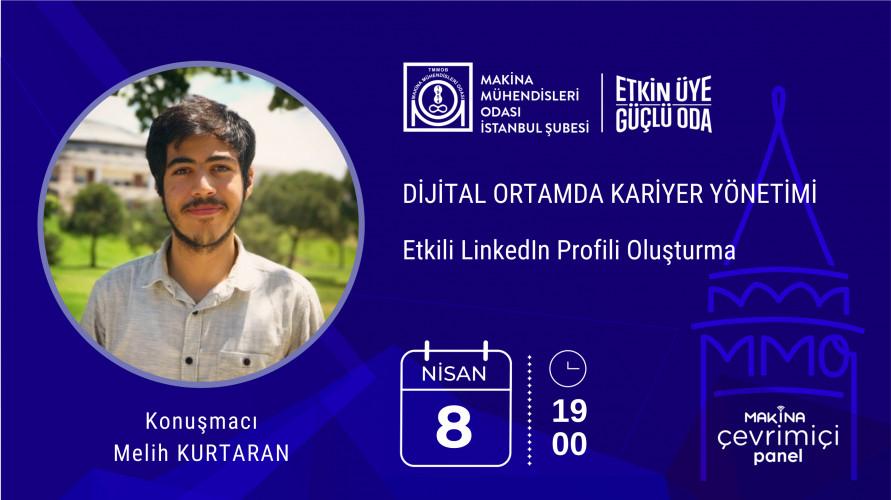 Dijital Ortamda Kariyer Yönetimi-Etkili LinkedIn Profili Oluşturma