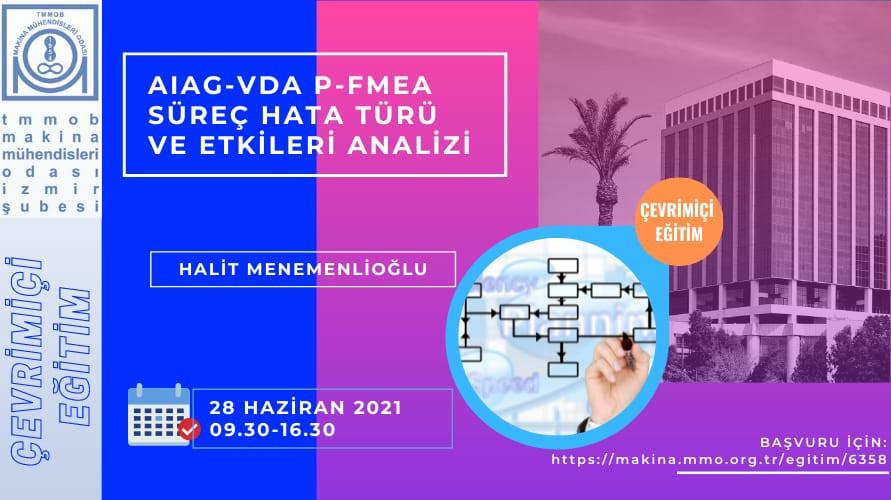 AIAG-VDA P-FMEA Süreç Hata Türü ve Etkileri Analizi -- Çevrimiçi Eğitim