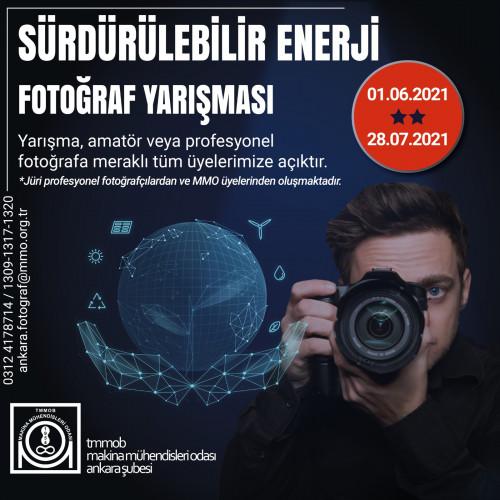 """""""Sürdürülebilir Enerji"""" Fotoğraf Yarışması"""