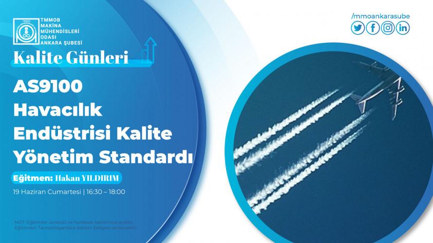 AS9100 Havacılık Endüstrisi Kalite Yönetim Standardı
