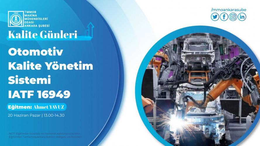 Otomotiv Kalite Yönetim Sistemi IATF 16949