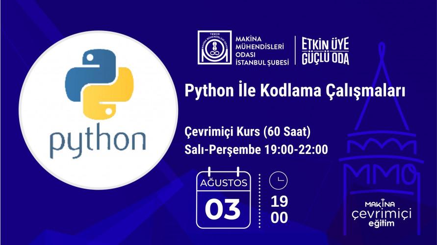 Python İle Kodlama Çalışmaları