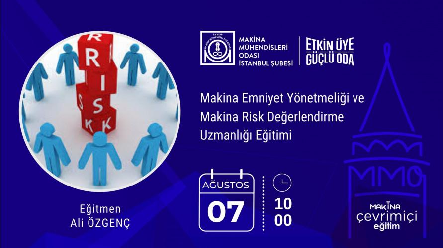 Makina Emniyet Yönetmeliği ve Makina Risk Değerlendirme Uzmanlığı Eğitimi