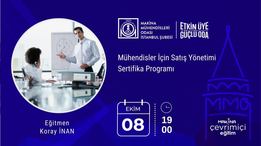 Mühendisler İçin Satış Yönetimi Sertifika Programı