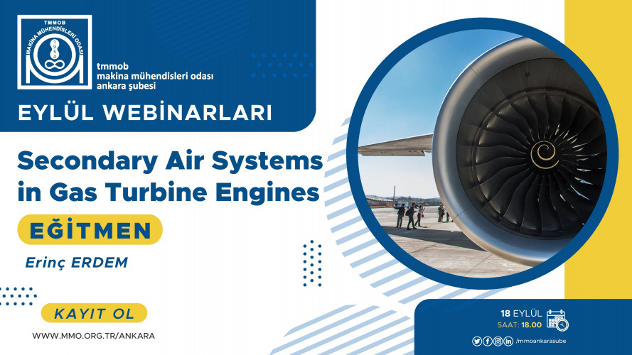 Secondary Air Systems in Gas Turbine Engines