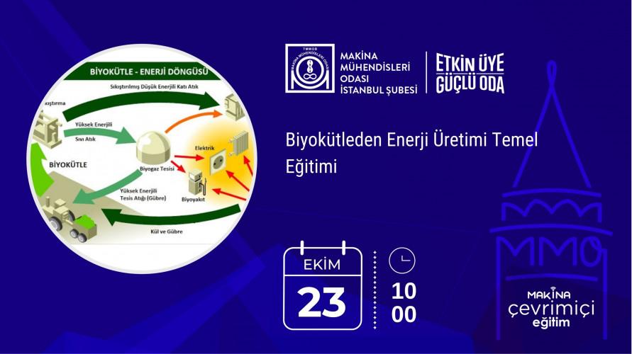 Biyokütleden Enerji Üretimi Temel Eğitimi