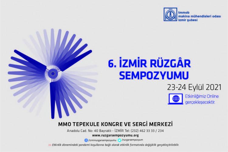 6. İzmir Rüzgâr Sempozyumu