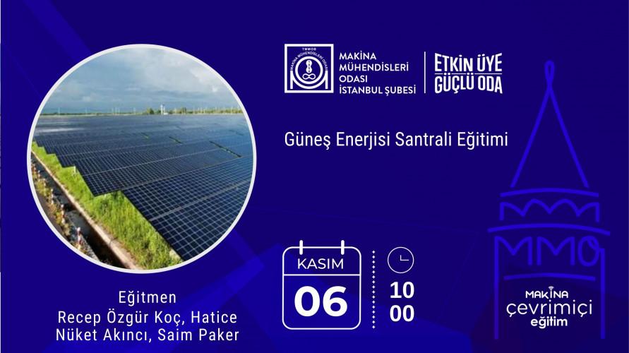Güneş Enerjisi Santrali Eğitimi