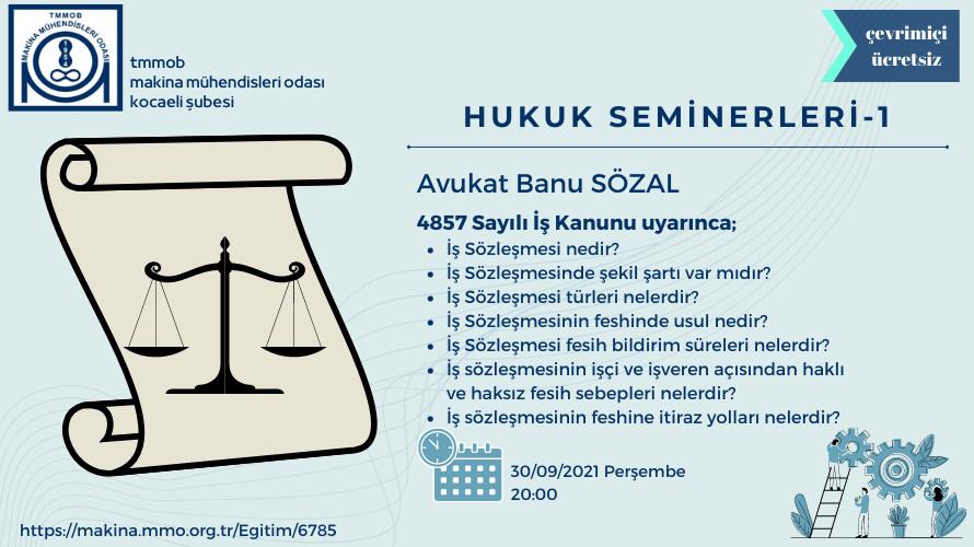 Hukuk Seminerleri-1