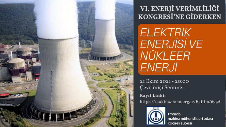 Elektrik Enerjisi Ve Nükleer Enerji