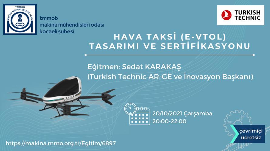 HAVA TAKSİ (e-VTOL) TASARIMI VE SERTİFİKASYONU
