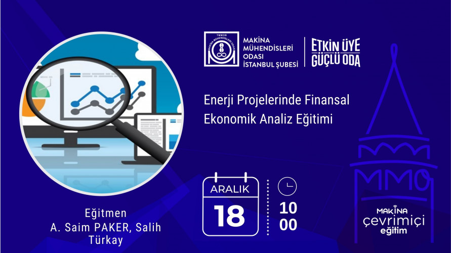 Enerji Projelerinde Finansal Ekonomik Analiz Eğitimi